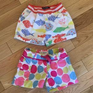 Mini Boden Shorts Bundle Size 6-7